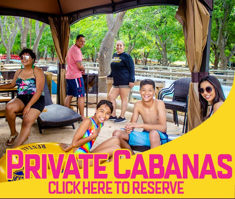 private cabana wet n wild water world cabañas privadas