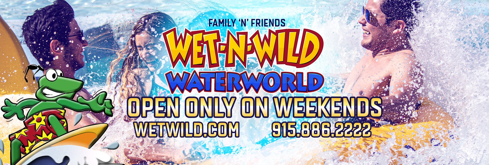 Wet 'N' Wild Water World – Water Park, Anthony TX